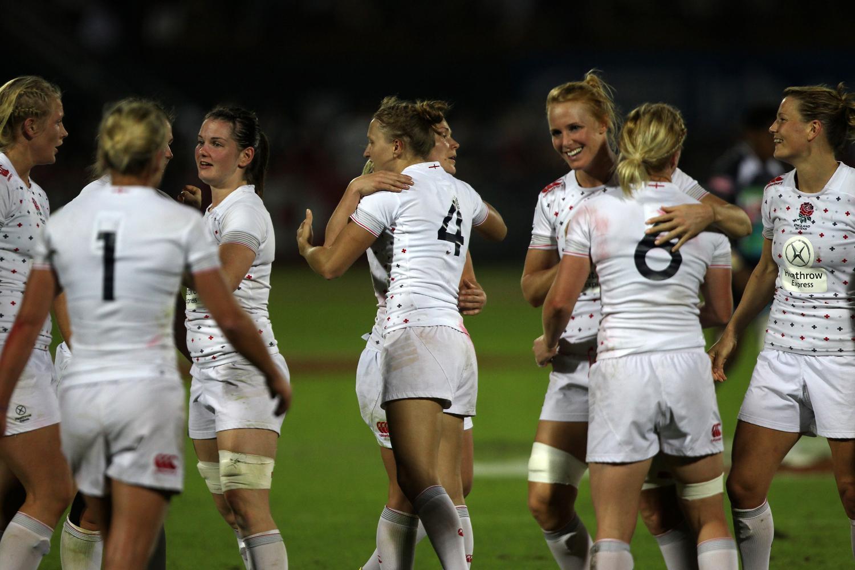 England's women win the Plate in Dubai