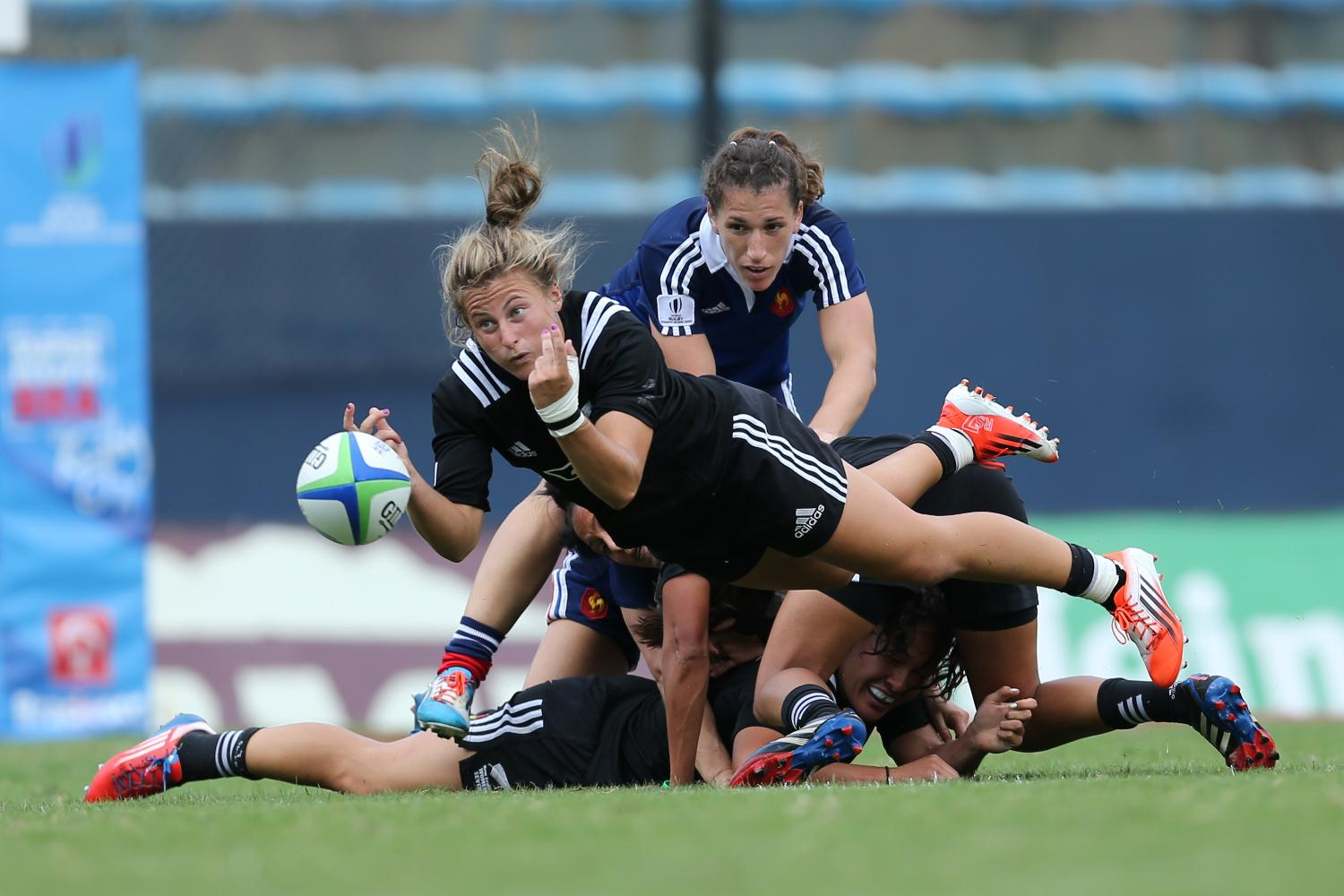 New Zealand and France on day two at Brazil 7s