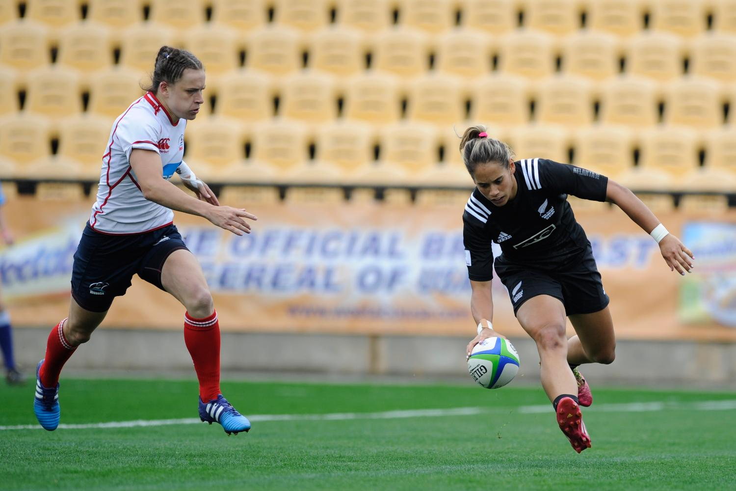 New Zealand score against Russia