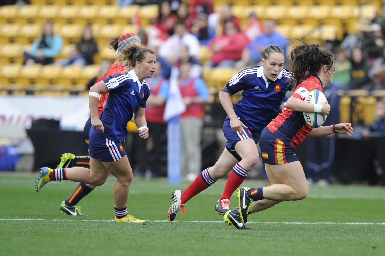 Spain v France Women's Sevens Series Round 3 Atlanta USA