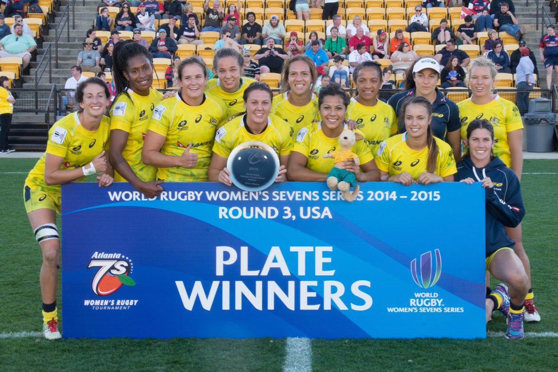 Australia claim Plate Winners title Atlanta 7's