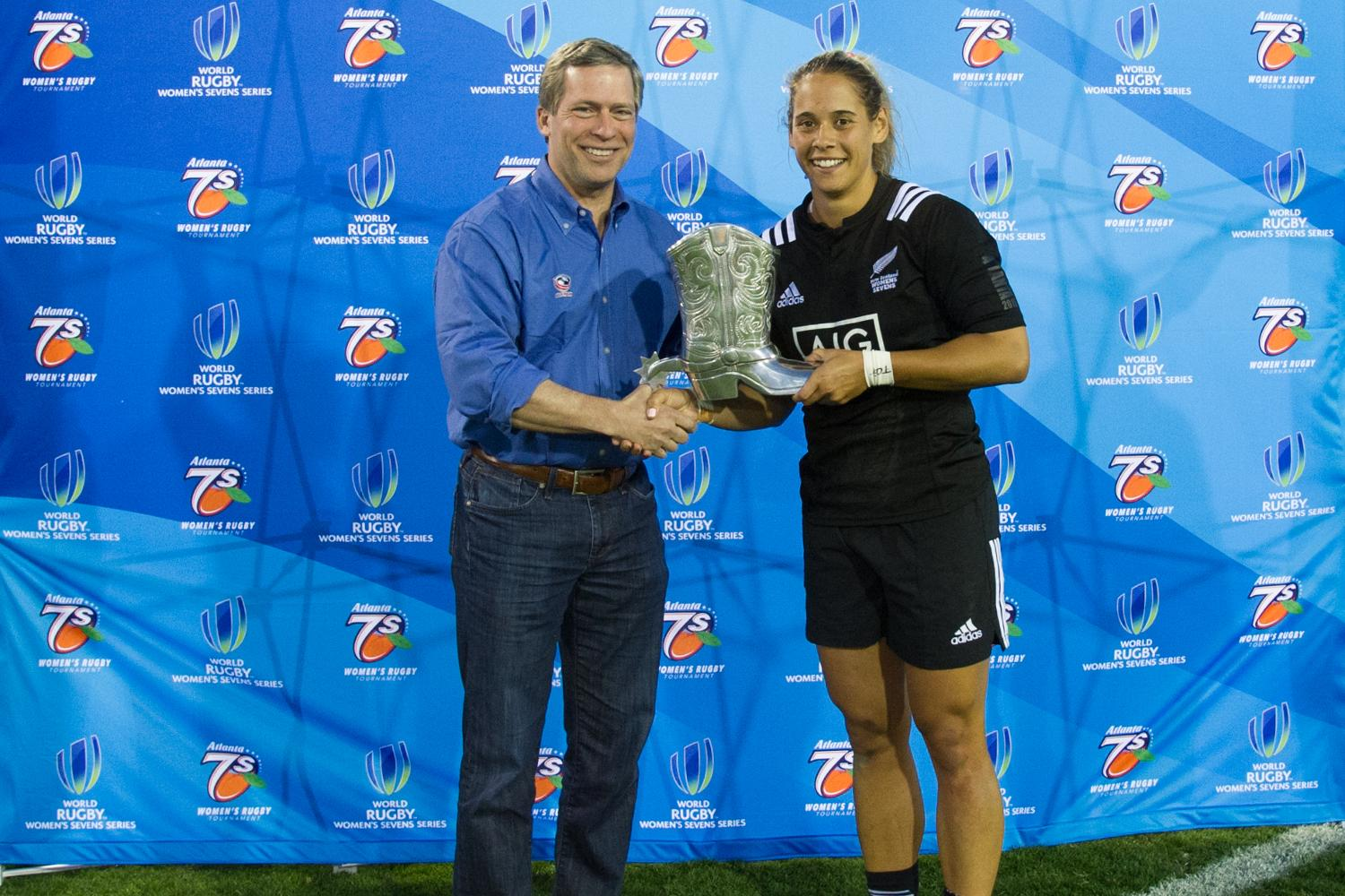 New Zealand's Kayla McAlister named MVP at the Atlanta 7's