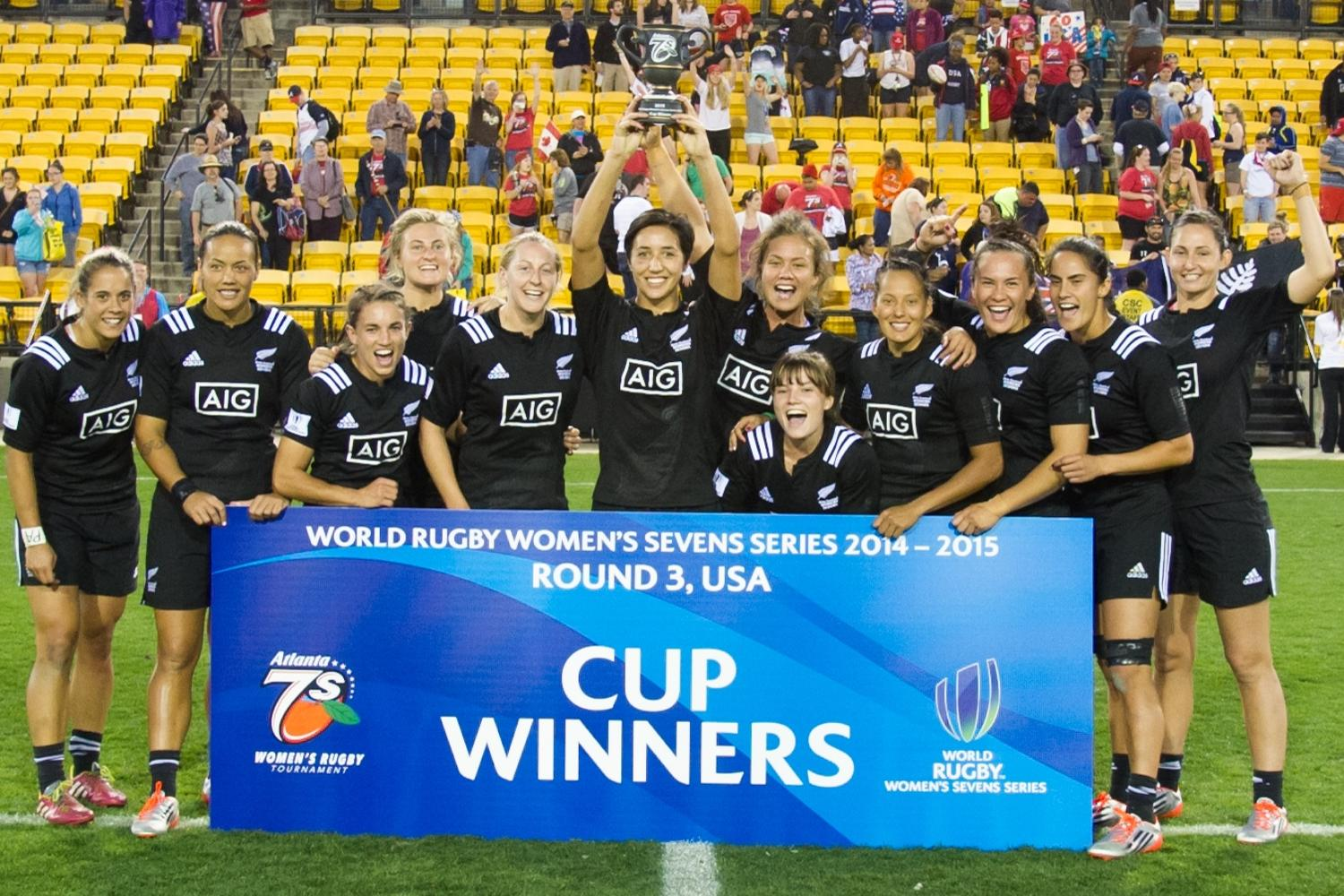 New Zealand v USA Final Women's Sevens Series 2014/15
