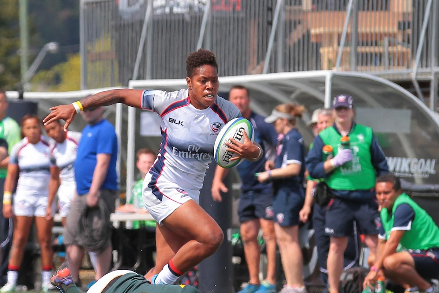 Women's Sevens Series: USA v South Africa