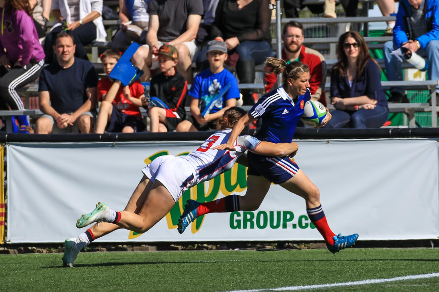 Women's Sevens Series: France v USA