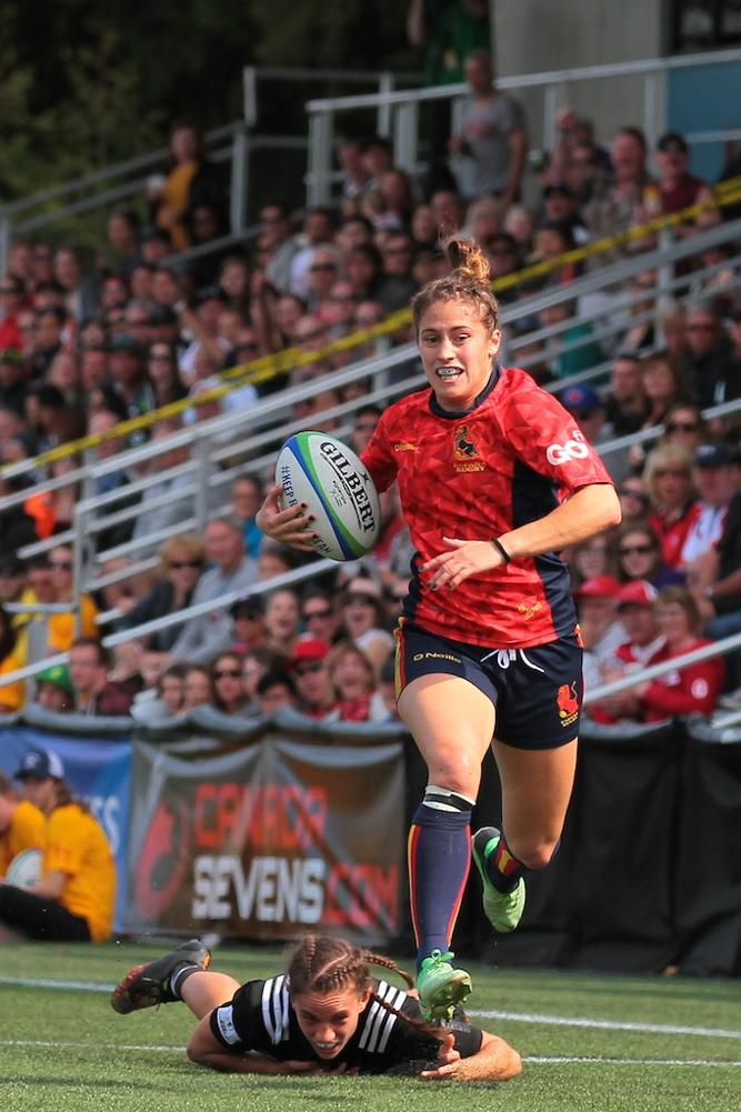 Women's Sevens Series: New Zealand v Spain