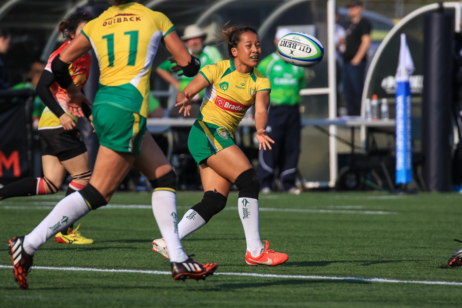 Women's Sevens Series: Brazil v China