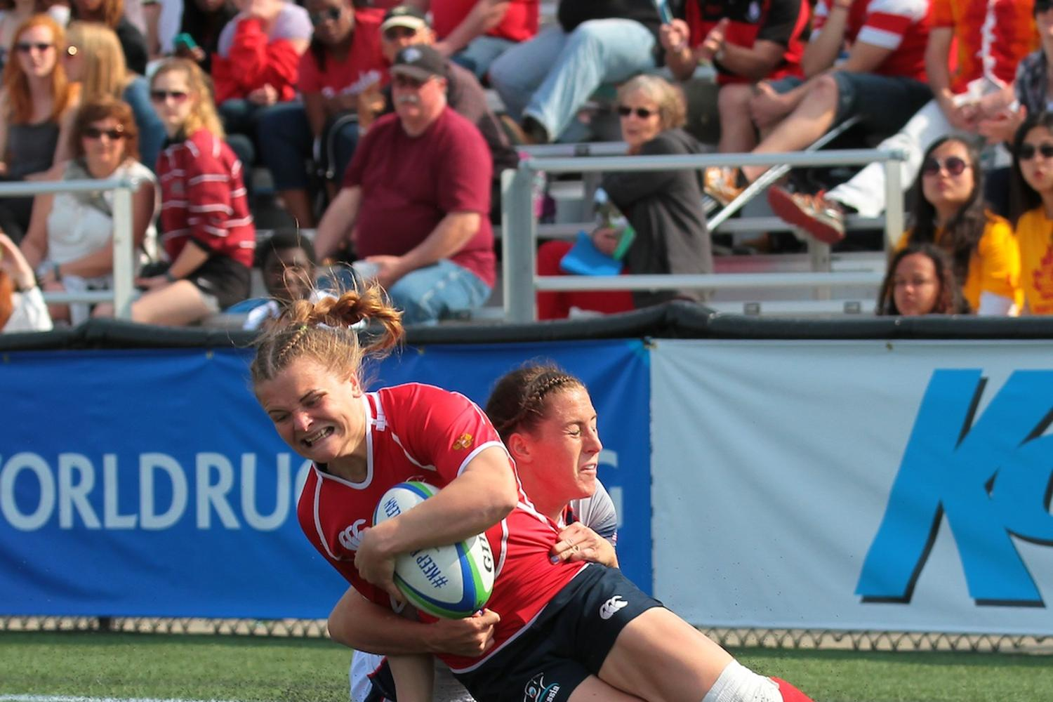 Women's Sevens Series: Russia v USA