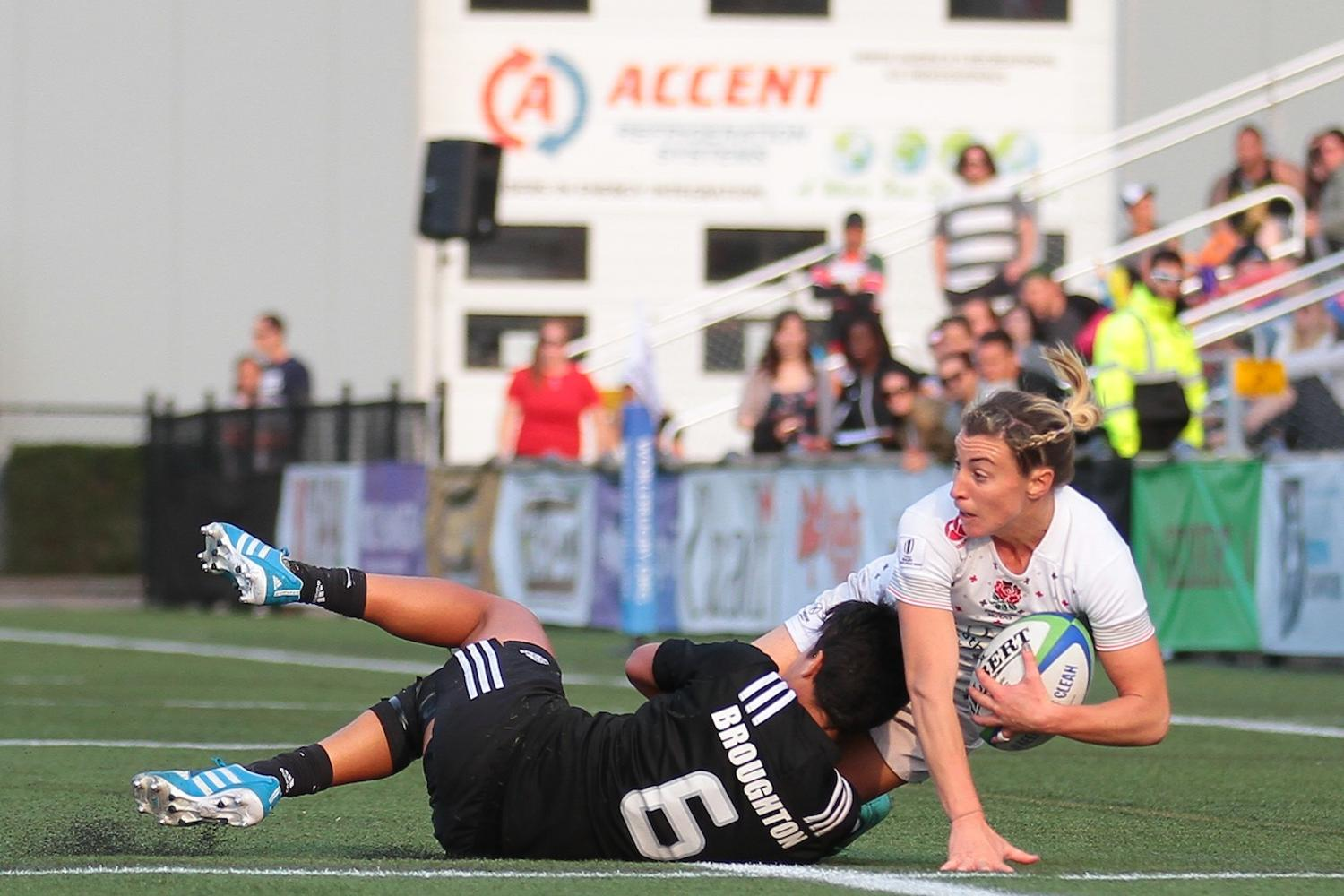 Women's Sevens Series: England v New Zealand