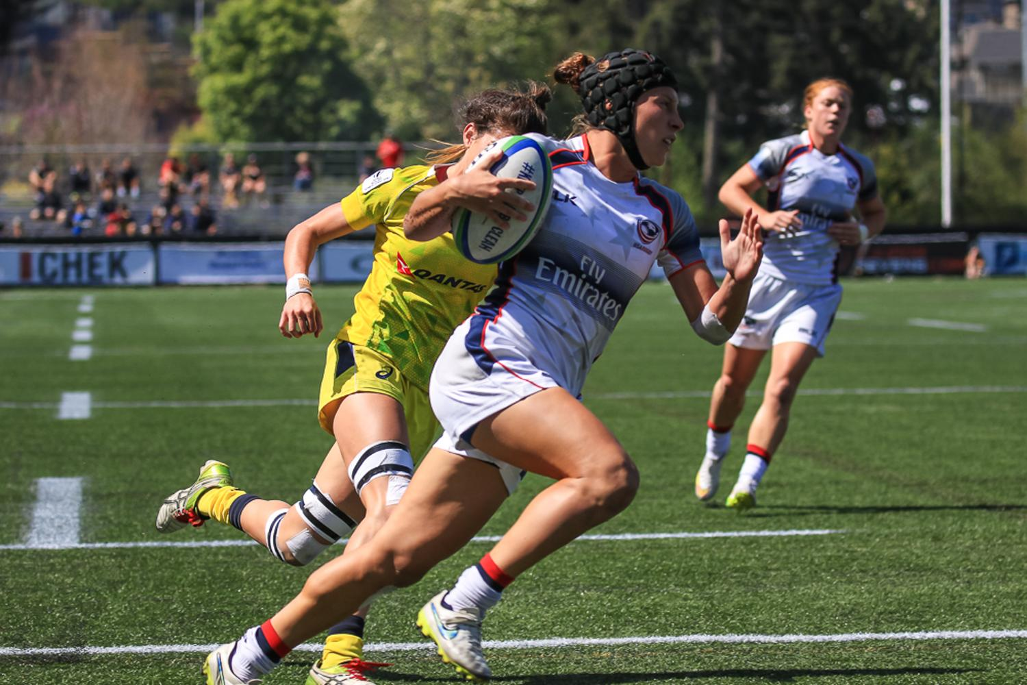Women's Sevens Series: Australia v USA