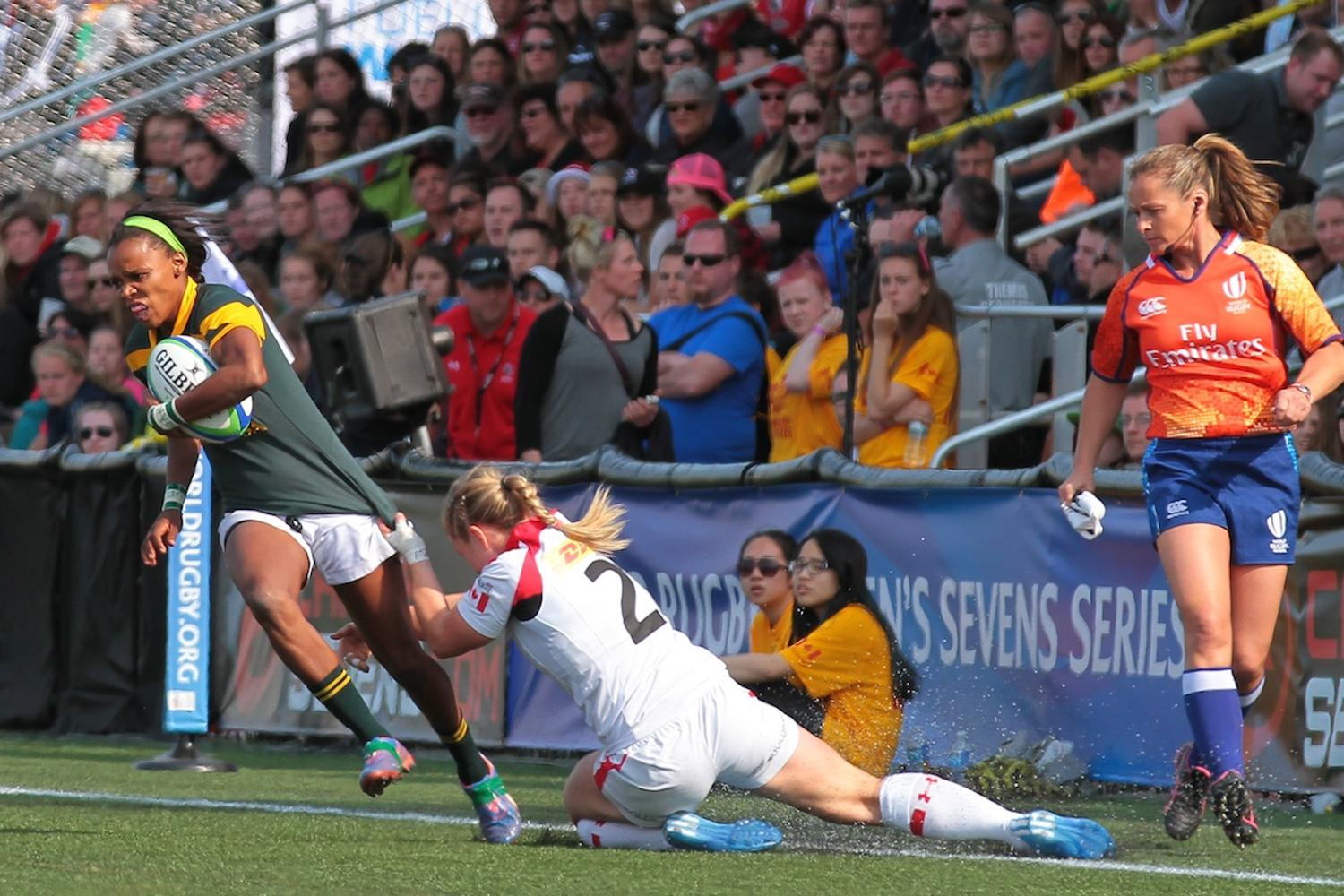 Women's Sevens Series: Canada v South Africa