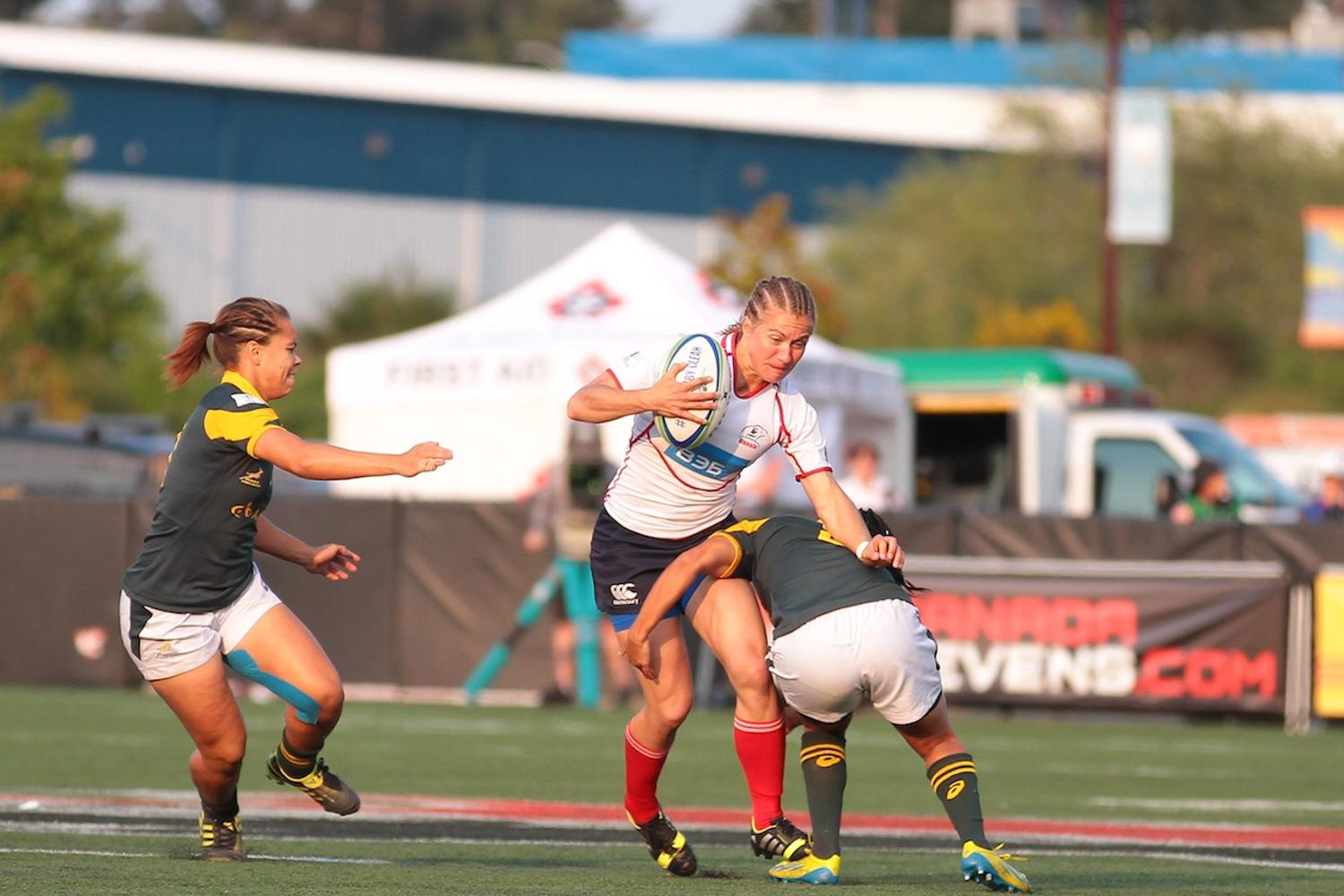Women's Sevens Series: Russia v South Africa
