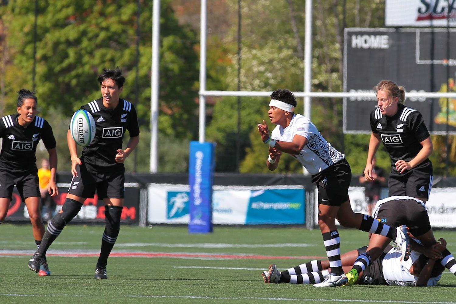 Women's Sevens Series: Fiji v New Zealand