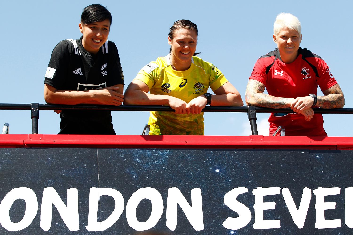 The top three women's captains ahead of the London 7s