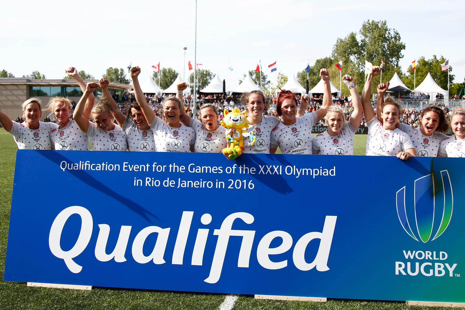 QUALIFIED: England are going to Rio 2016