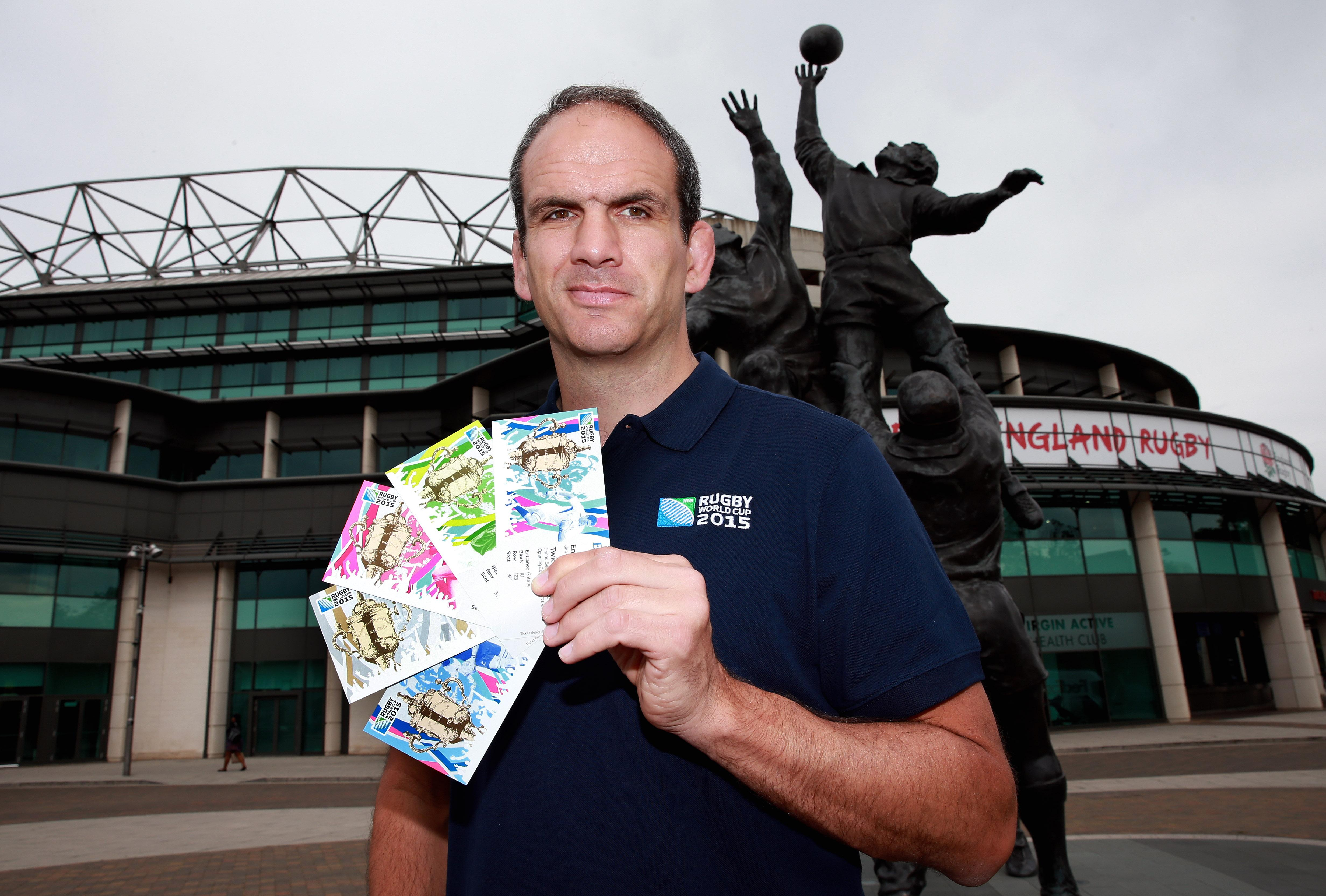 ticket design for rugby world cup 2015 revealed