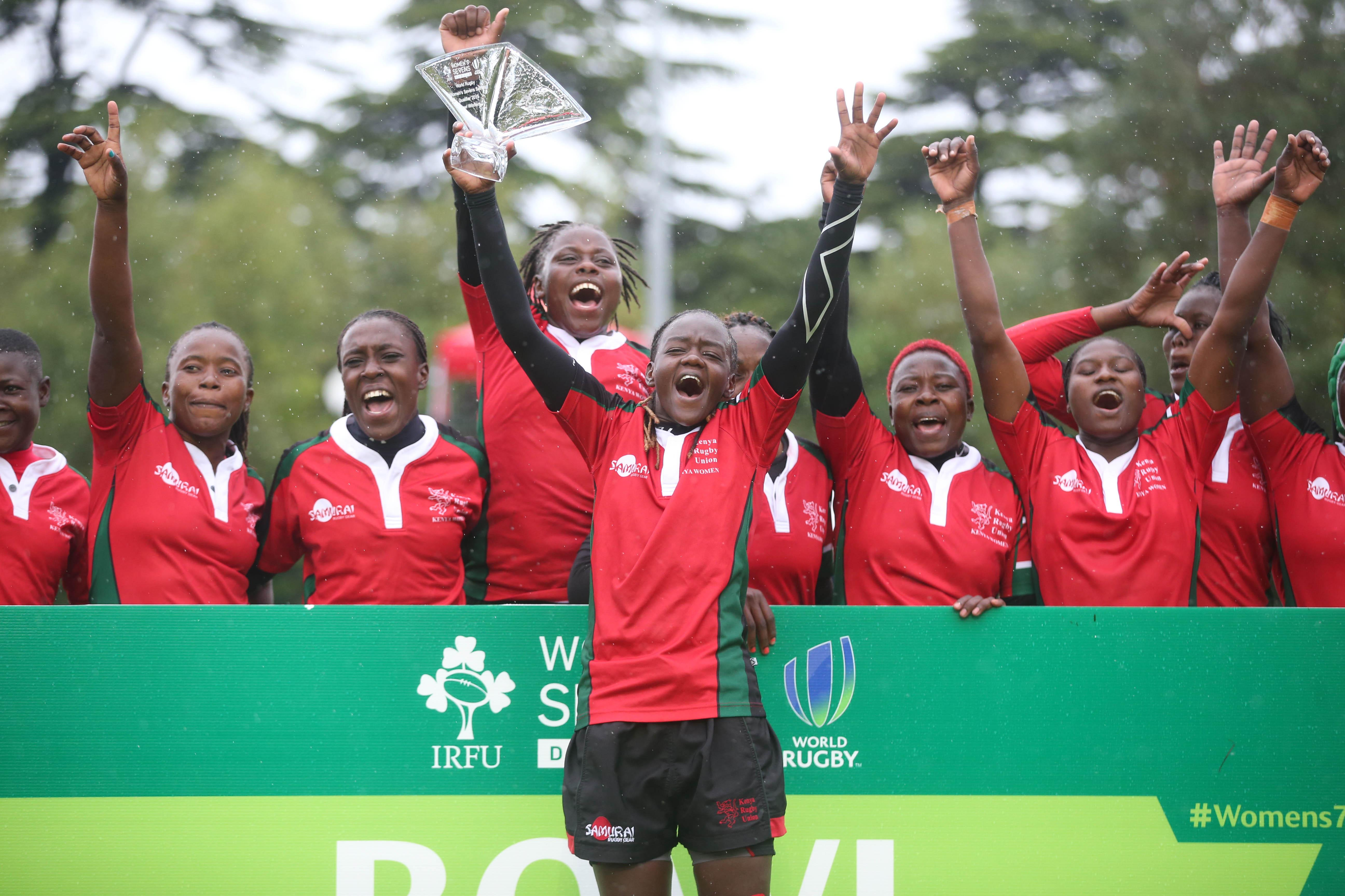 Kenya women secure Rio 2016 Olympic Games Rugby Sevens place