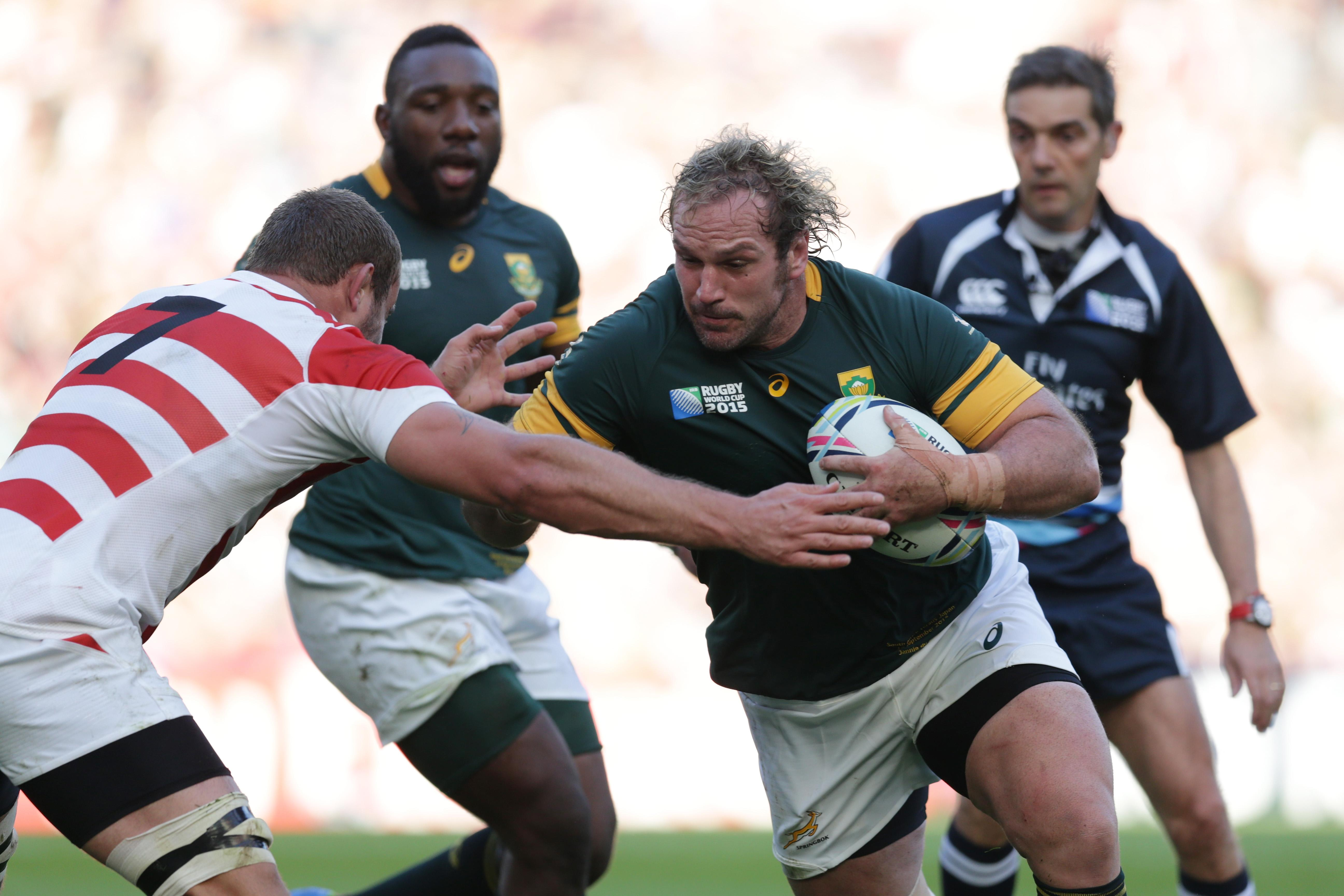 Fear a mistake against the All Blacks and you will make one, warns Springbok Jannie du Plessis