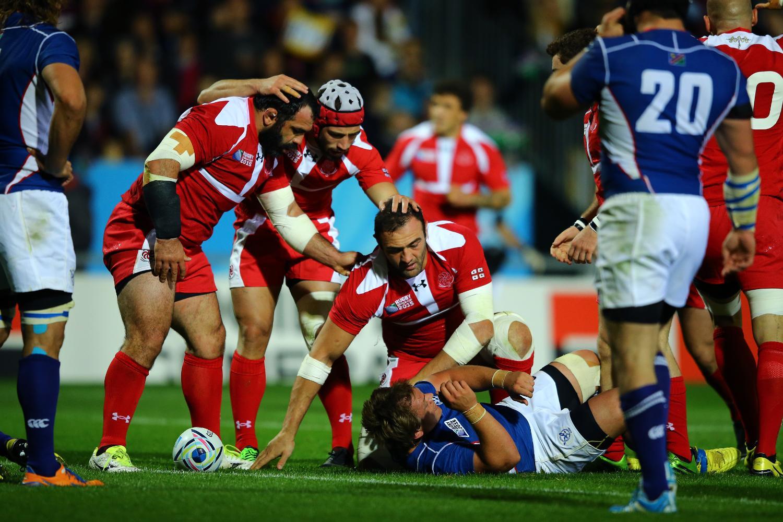 Namibia v Georgia - Group C: Rugby World Cup 2015