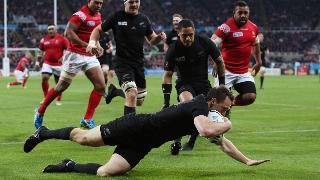 New Zealand v Tonga - Group C: Rugby World Cup 2015