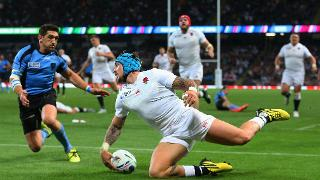England v Uruguay - Group A: Rugby World Cup 2015