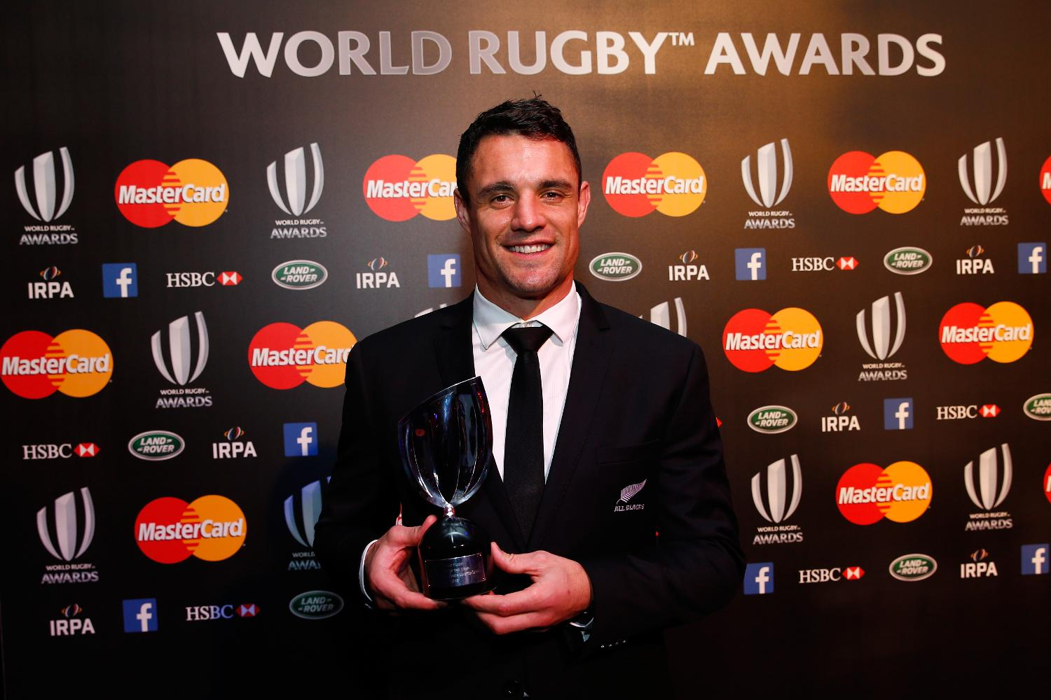 Daniel Carter - World Rugby Player of the Year 2015