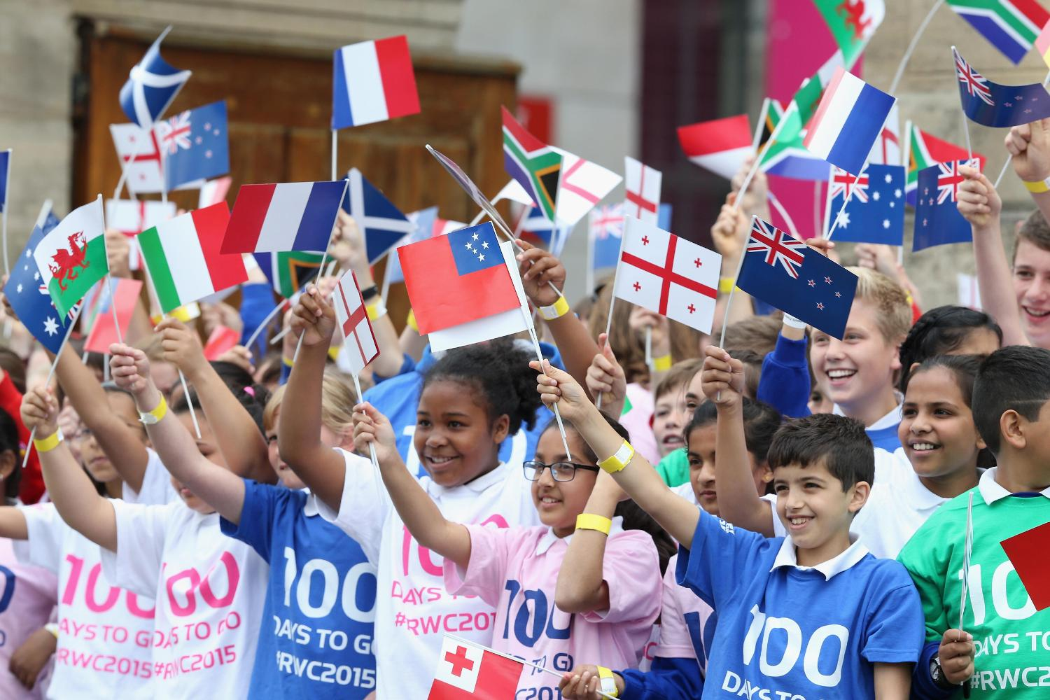 Schools benefit from RWC 2015 legacy