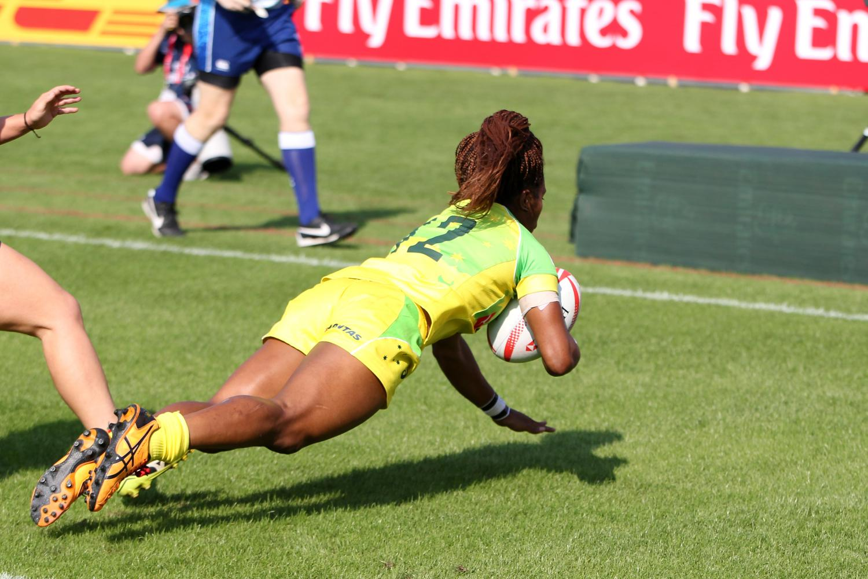 Elliah Green scores for Australia