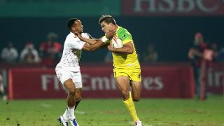 Emirates Dubai Rugby Sevens: HSBC World Rugby Sevens Series - Day Two
