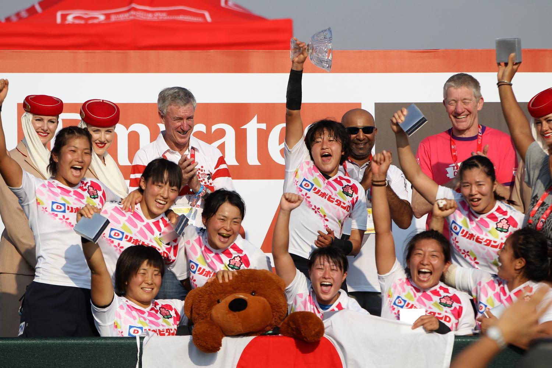 Japan Women's 7s Bowl winners