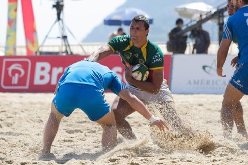 Beach Rugby Event Provides Perfect Showcase For Rio