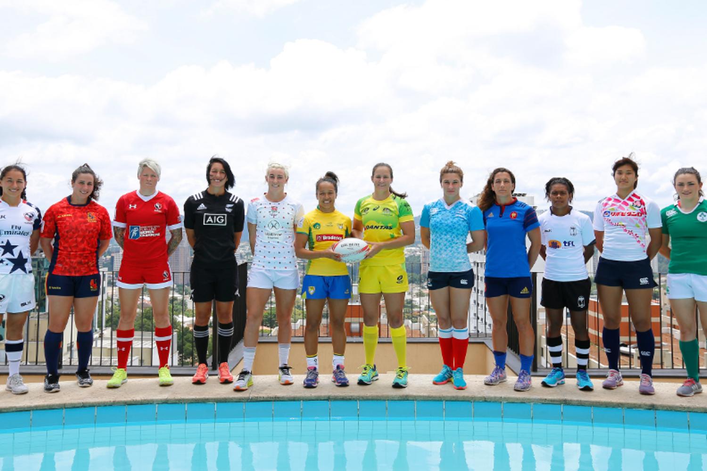 Women's Sevens Series captains - Sao Paulo