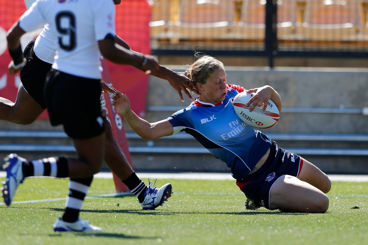 USA scores try against Fiji