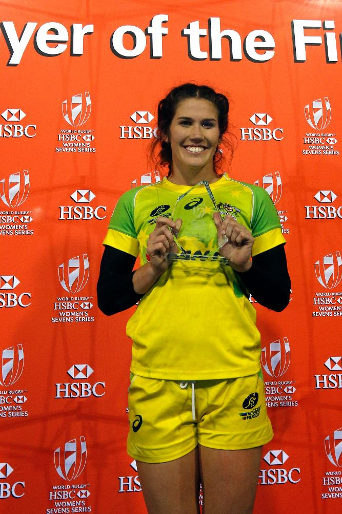 Charlotte Caslick named player of the final