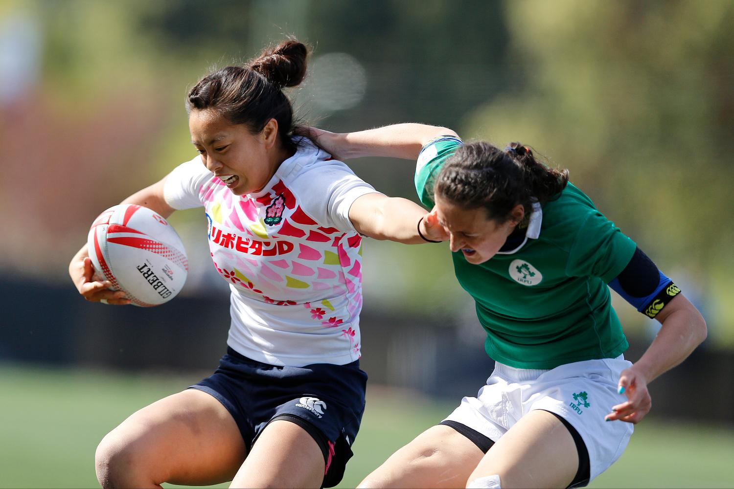 Japan and Ireland square off.