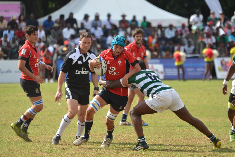 Seventh place play-off: Zimbabwe v Hong Kong
