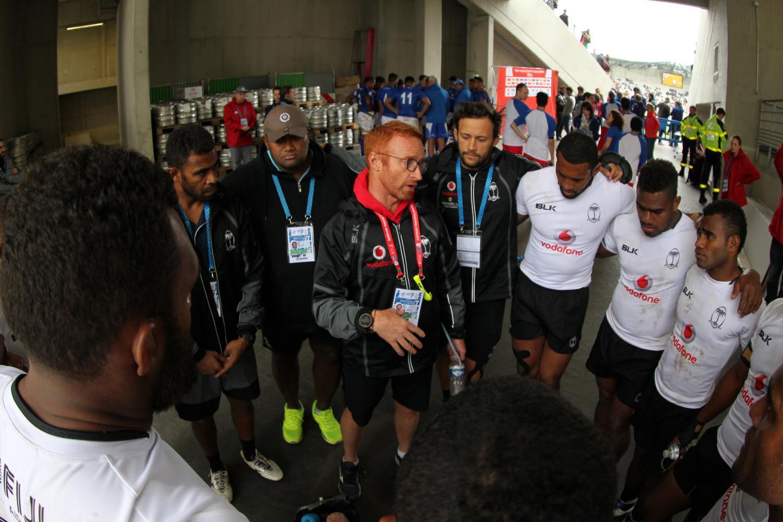 Fiji's head coach Ben Ryan