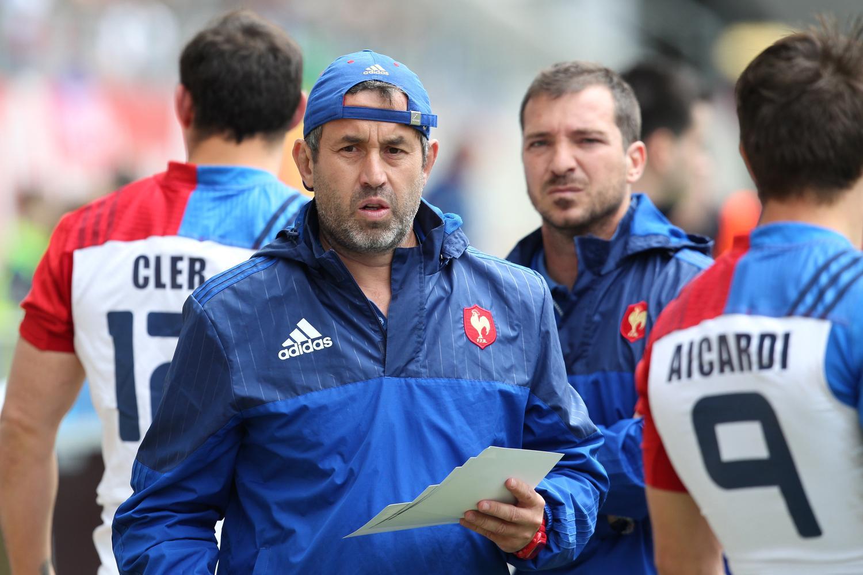 France head coach Frederic Pomarel
