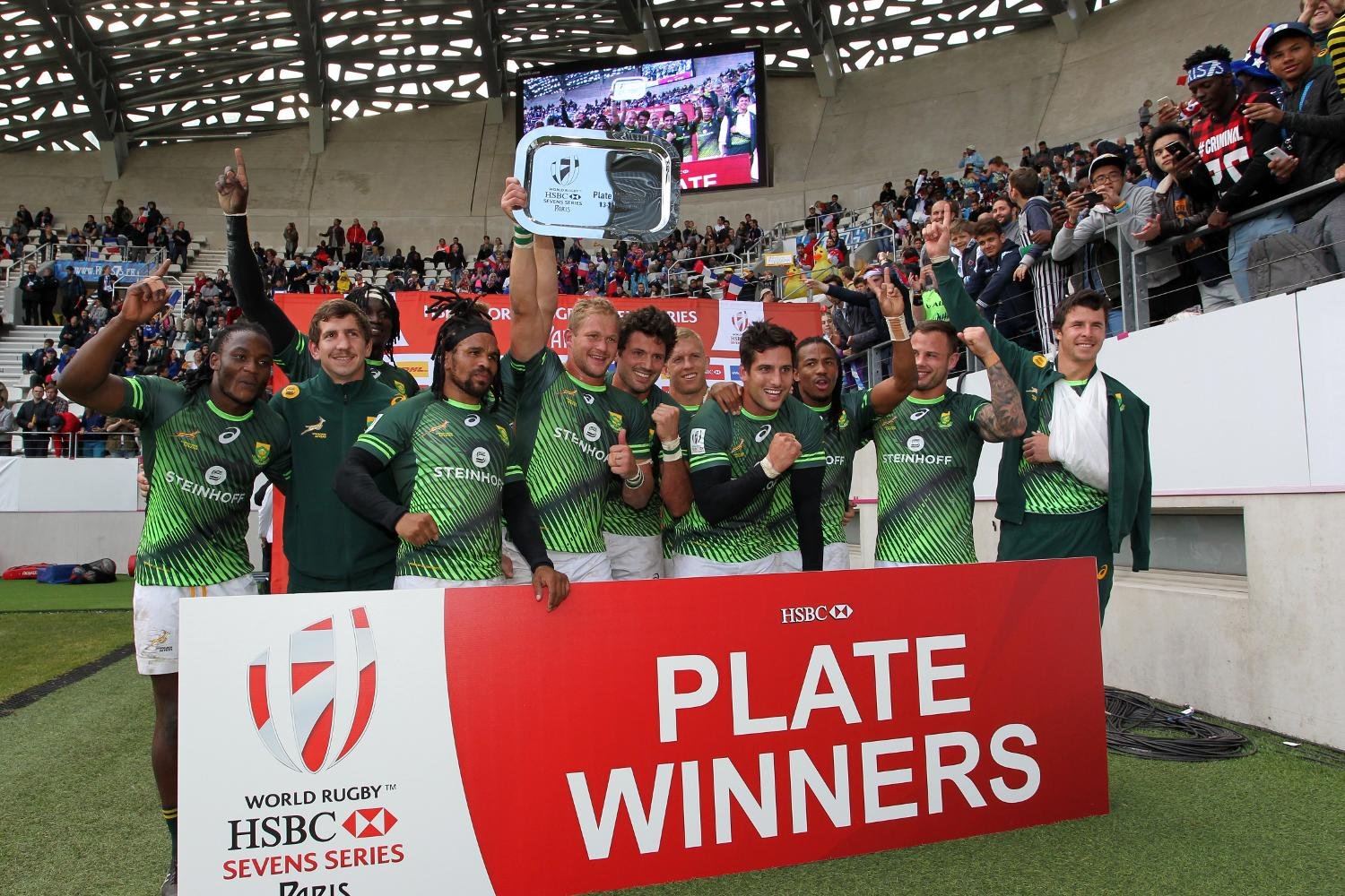 South Africa beat Australia to win the Plate in Paris