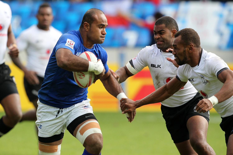 Samoa captain Faalemiga Selesele