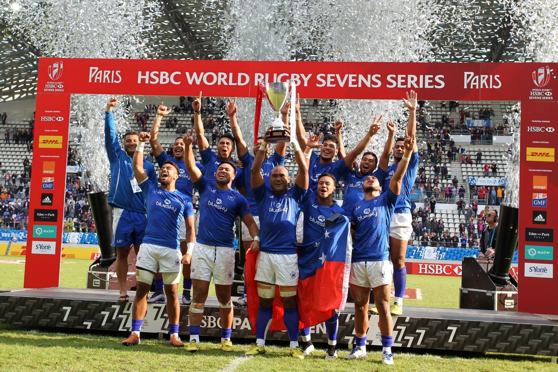 Samoa win the Paris 7s after beating Fiji