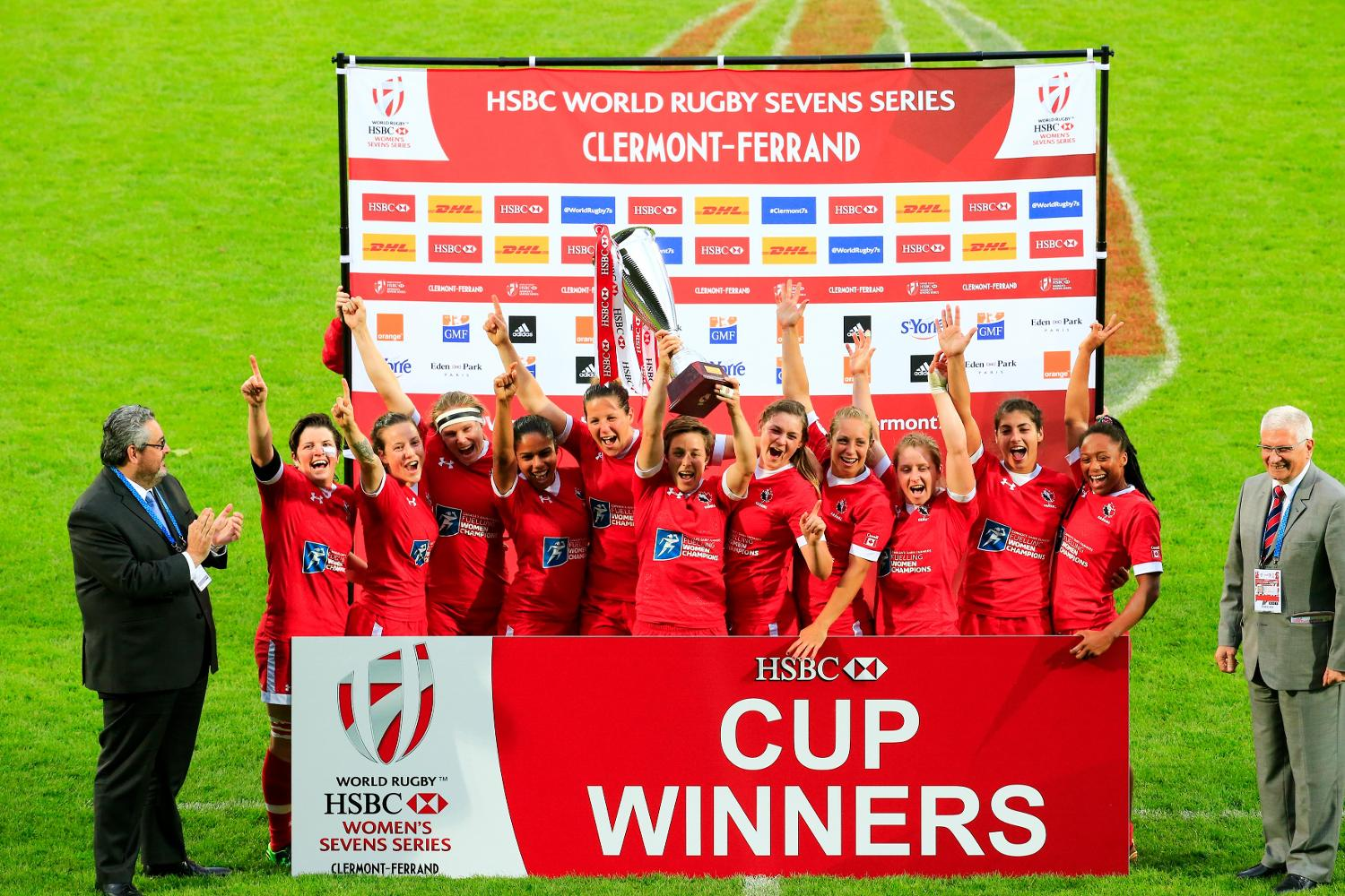 Canada - Clermont-Ferrand 2016 champions