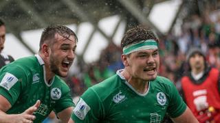 Pool A: New Zealand v Ireland