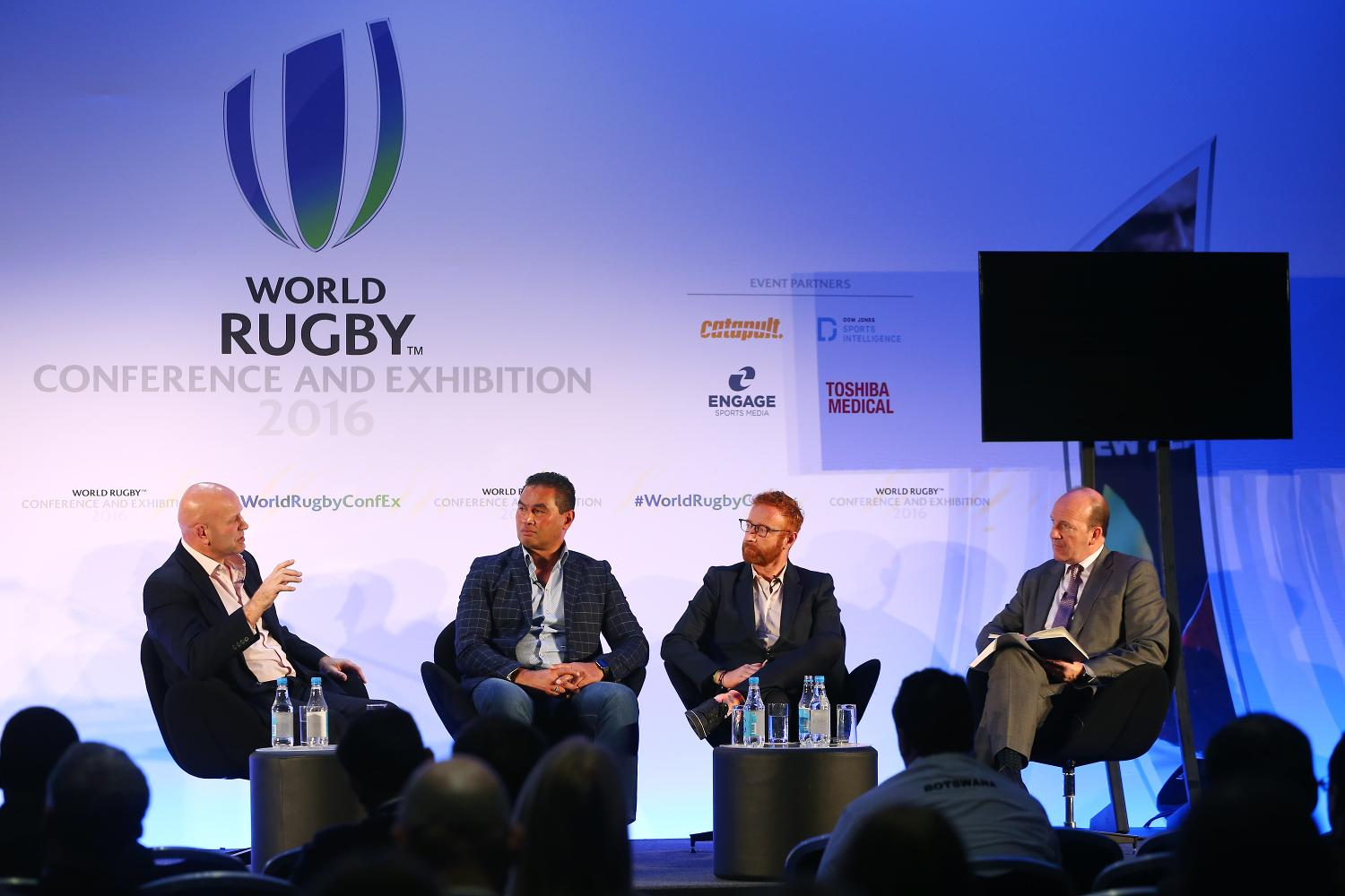 World Rugby Conference and Exhibition 2016 - Day 1