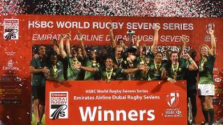 Emirates Dubai Rugby Sevens: HSBC Sevens World Series - Day Three