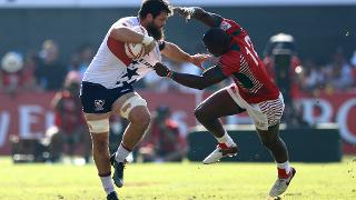 Emirates Airlines Dubai Rugby Sevens: Men's Day Two