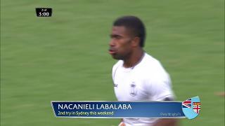 Try, Nacanieli Labalaba, FIJI v USA