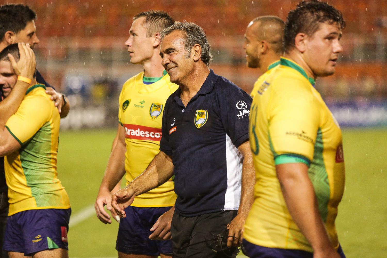 Brazil head coach Rodolfo Ambrosio