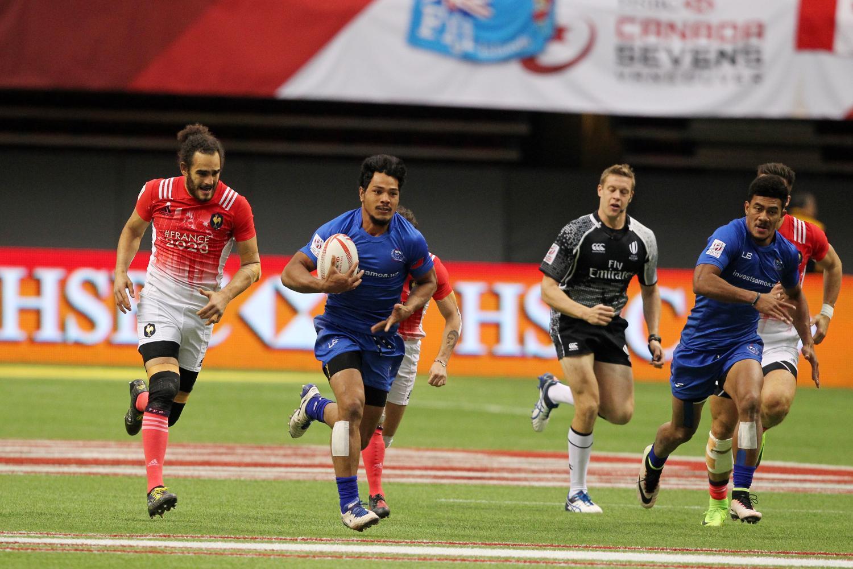 HSBC Canada Sevens Men's - Samoa v France