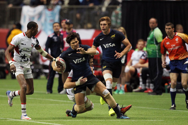 HSBC Canada Sevens - USA v Argentina